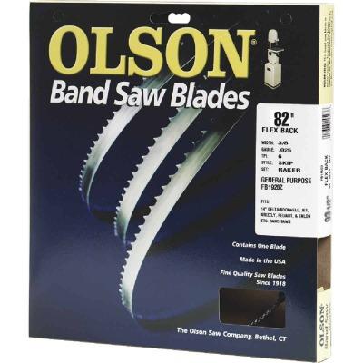 Olson 82 In. x 3/8 In. 4 TPI Skip Flex Back Band Saw Blade