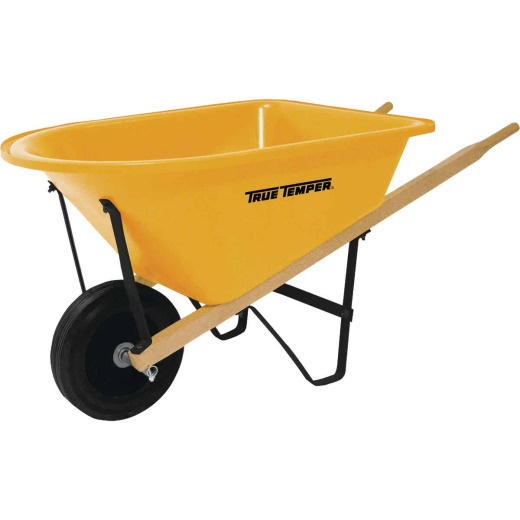 True Temper Lil' 1.25 Cu. Ft. Poly Kids Wheelbarrow